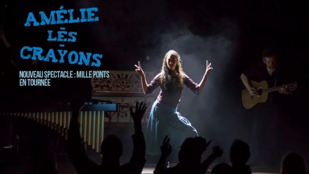 Amélie et les Crayons - Mille Ponts