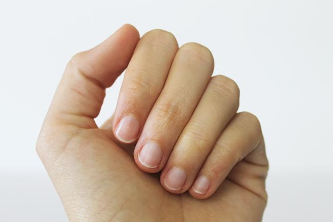 DIY All Natural Polish-Free Manicure