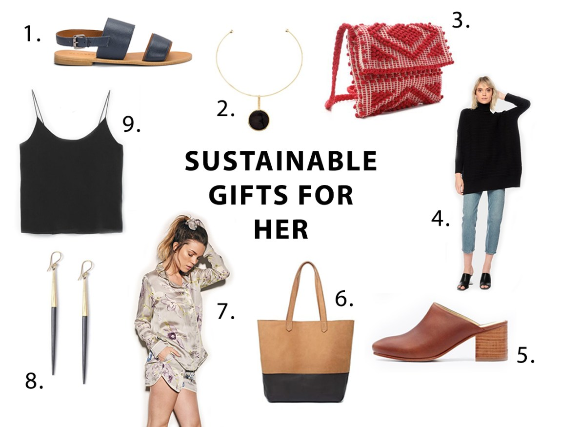 2018 Sustainable Gift Guide for Her