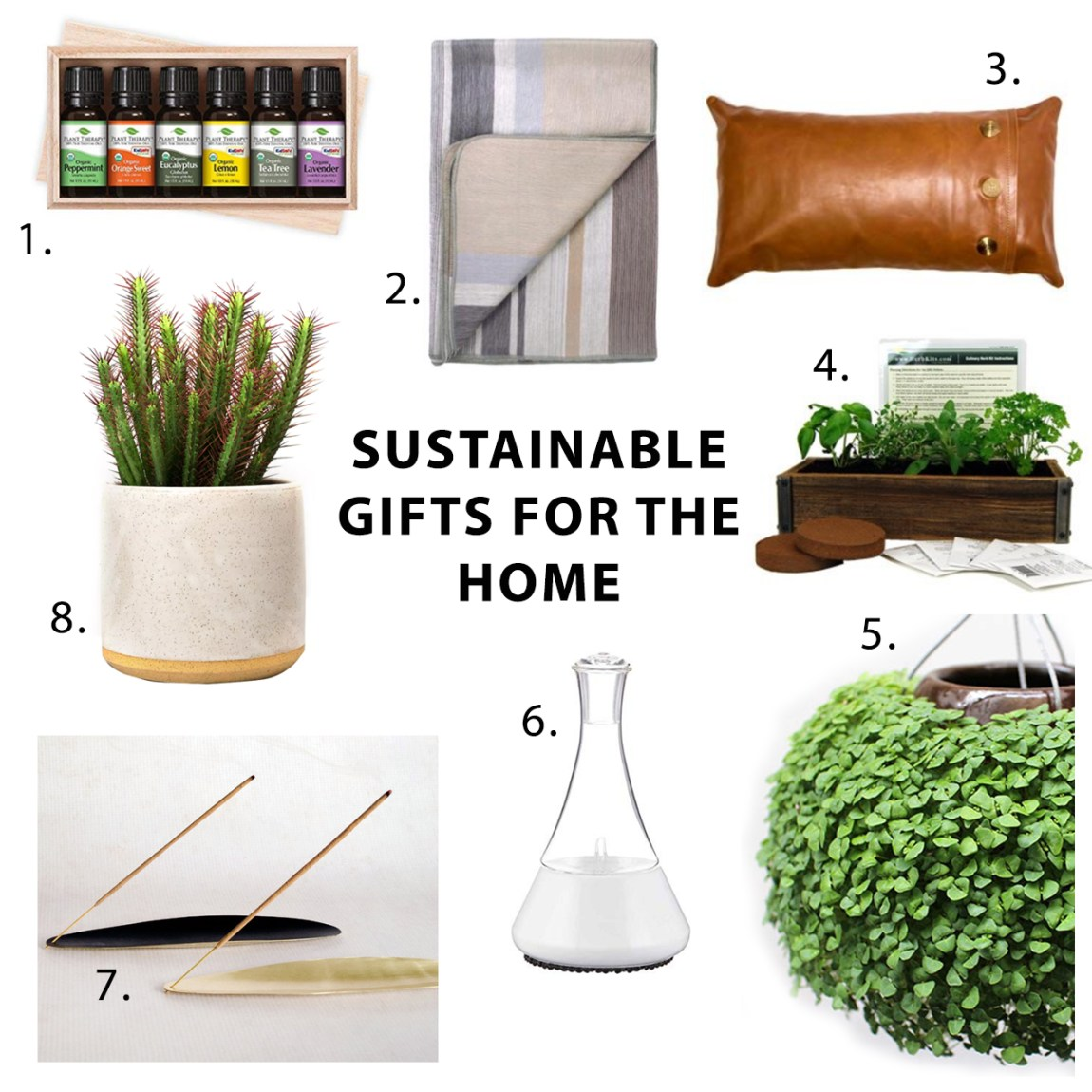 2018 Sustainable Gift Guide for the Home