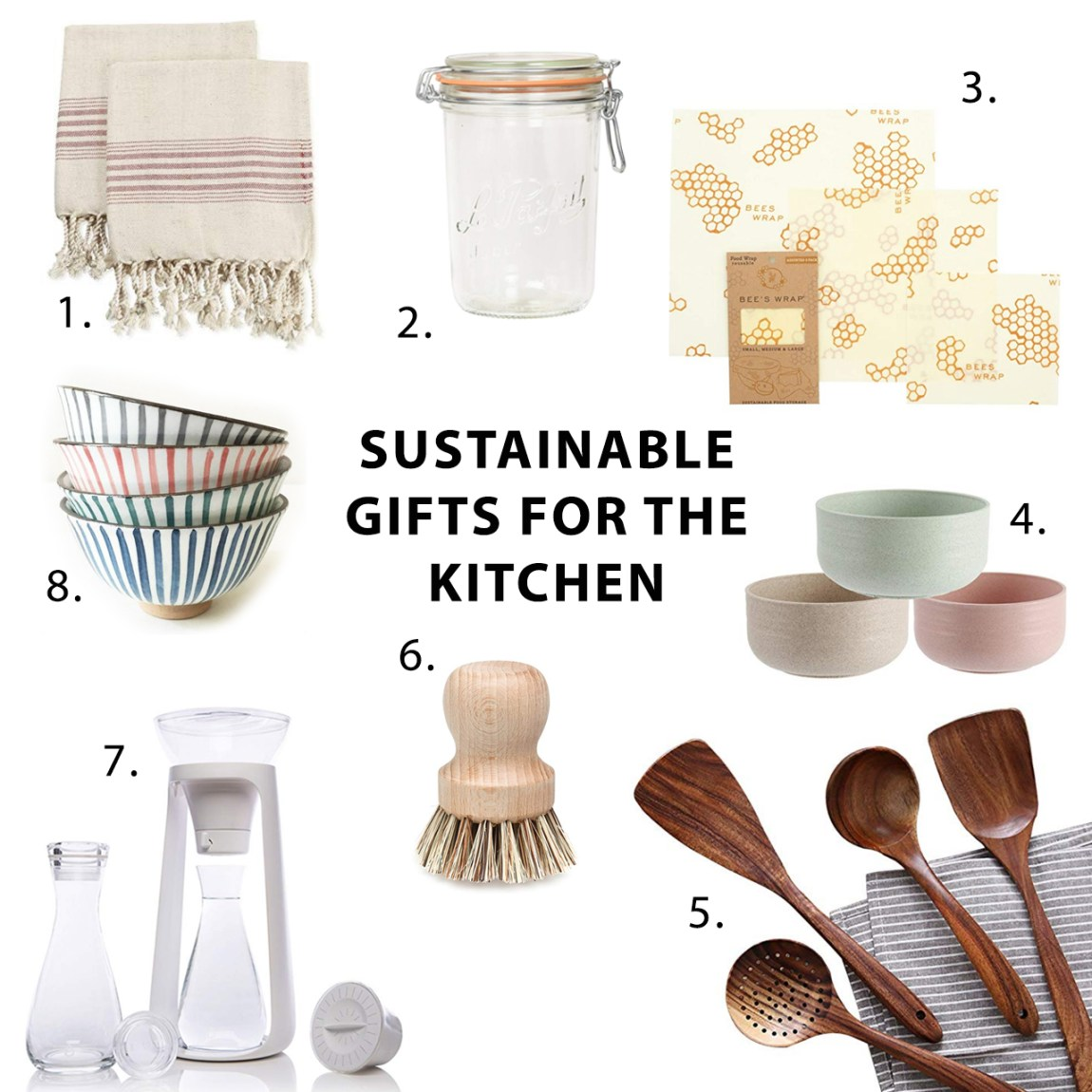 2018 Sustainable Gift Guide for the Kitchen