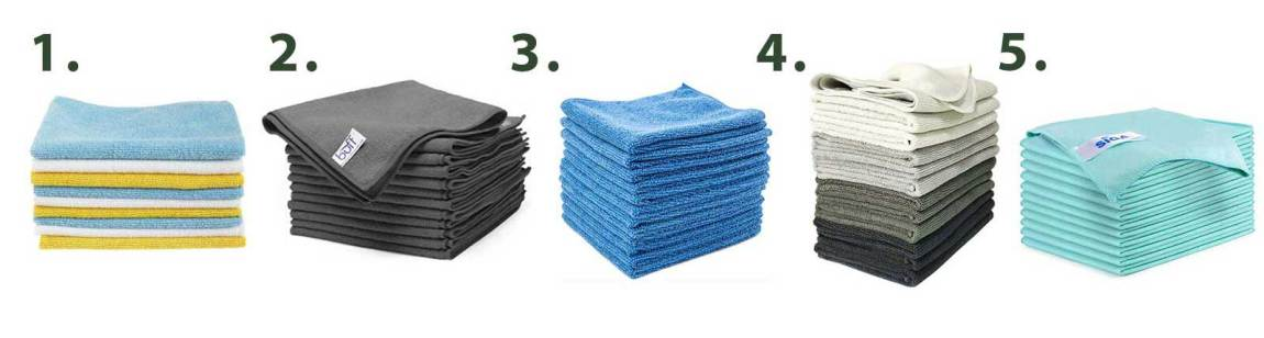 Tools for a paper-free kitchen - Microfiber