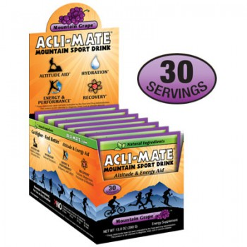 Acli-Mate® Mountain Sport Drink: Altitude + Energy = Grape Box