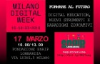 MILANO DIGITAL WEEK il 17 marzo 2018 Digital Education