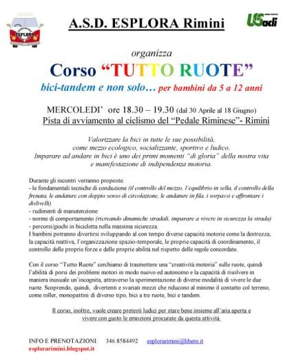 Microsoft Word - Corso TUTTO RUOTE 2014 (bambini).doc