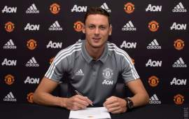 Everything comes new for United's Nemanja Matic
