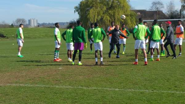 EiE: Awoniyi at the double, as Super Eagles players caged