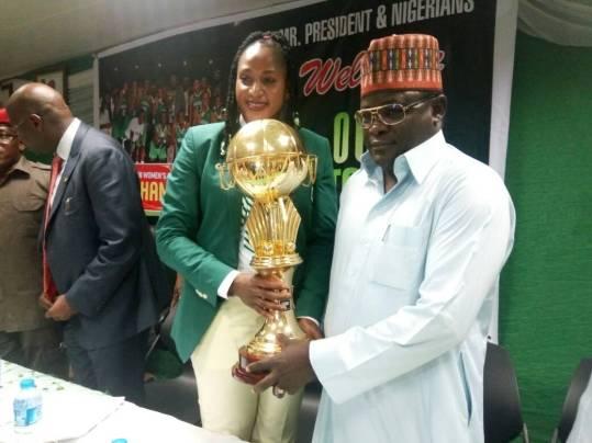 Buhari to receive victorious D'Tigress tomorrow – Dalung