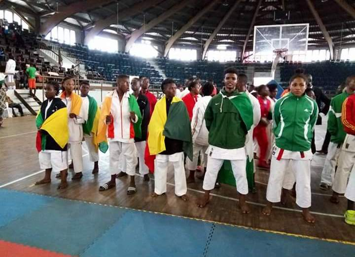 Karate: Nigeria Karatekas clinch 6 medals at the 16th UFAK in Benin Republic