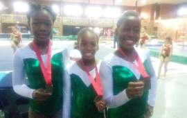 Nigeria wins four medals in South Africa Gymnastics Championship