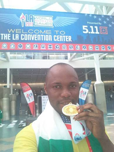 World Police Games: Yeiyah wins Gold as Onyemelusi settles for silver