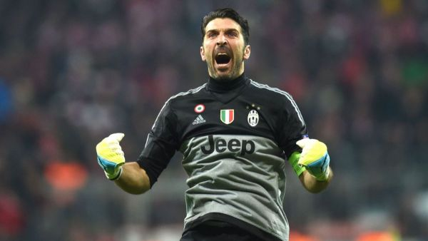 factory authentic f459b f7850 Juventus goalkeeper Buffon, two others listed for UEFA top ...