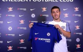Kylian Hazard signs for Chelsea