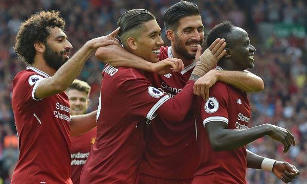Liverpool hit four past uninspiring Arsenal at Anfield