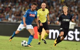 Napoli beat Nice, close in on CL group stage
