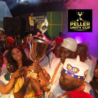 Peller Unity Cup wrap up trophy