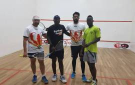 EXCLUSIVE Squash: Three Nigerians zoom into finals at the Zimbabwe Championship