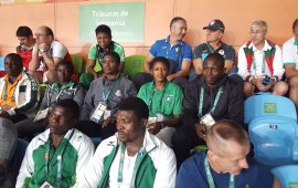 EXCLUSIVE: Nigeria wrestlers train in Bayelsa for the World Wrestling Championship