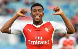 That time Alex Iwobi (@alexiwobi) showed how he felt about NEPA