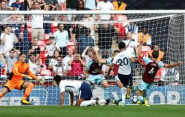 Spurs 1-1 Burnley: Clarets extend Tottenham's Wembley misery