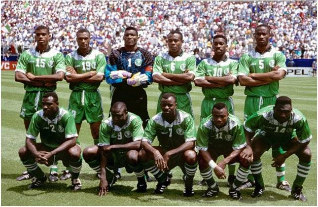 Amuneke: We can't compare 1994 Eagles with these ones