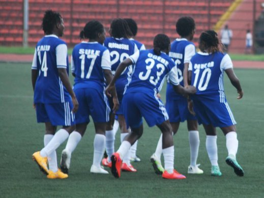AITEO Cup: Rivers Angels in pole position as Ifeanyiubah blow 2-goal lead