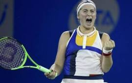Ostapenko upsets World number one to reach Wuhan Open semi-final