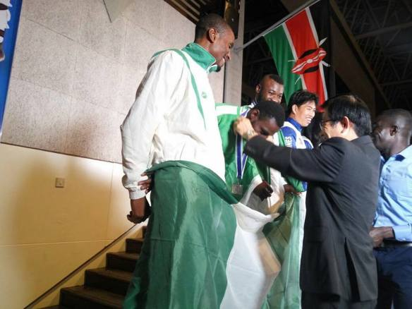 Karata: Ogene and Abah win gold for Nigeria in Kenya