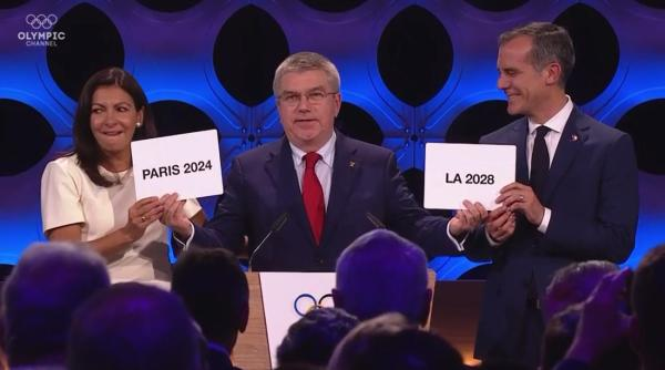 Paris and Los Angeles to host 2024 and 2028 Olympic Games