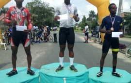 Pro-cycling champion Bassey returns to winning ways in Port Harcourt criterion