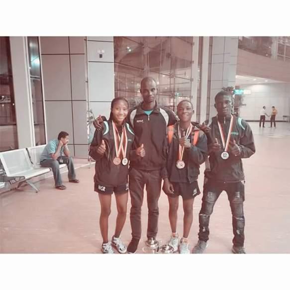 Table Tennis: Nigeria junior athletes shine in Egypt