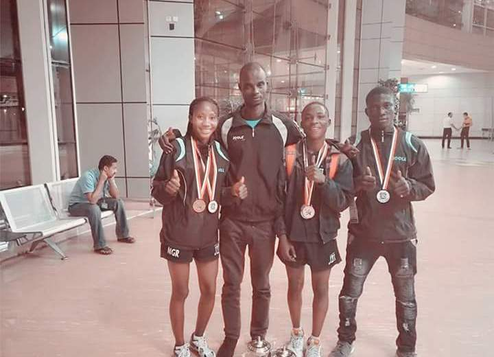 Table Tennis: Nigeria junior athletes shine in Egypt