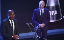 Togolese player Francis Kone honoured by FIFA