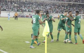 Super Eagles react to World Cup qualification on social media