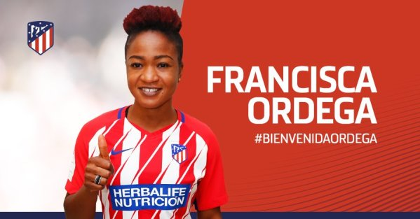 Ordega joins Atletico Madrid on loan