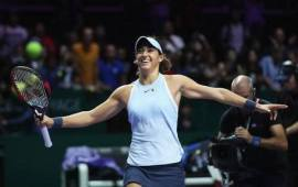 WTA Finals day 6: Top seed Halep out as Garcia progresses to semis