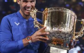 Rafa Nadal clinches 75th career title, Garcia beats new world number one