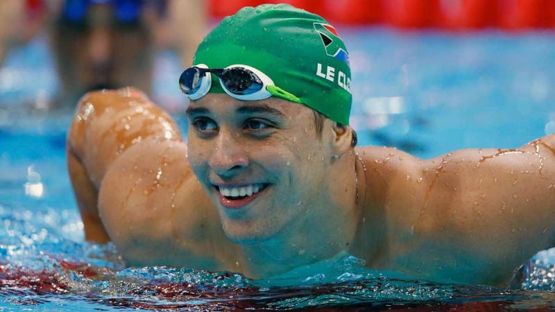 South African swimmer le Clos named Best Male Athlete