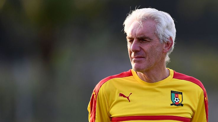 Cameroon coach issues ultimatum to his employers