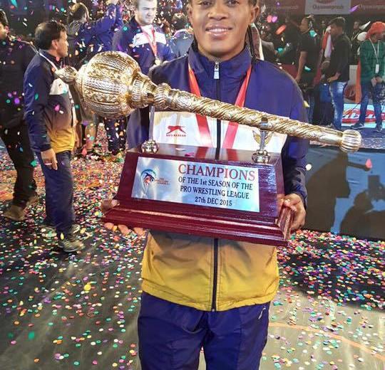 Wrestling: Mumbai Maharathi signs Adekuroye for the Pro Wrestling League season three