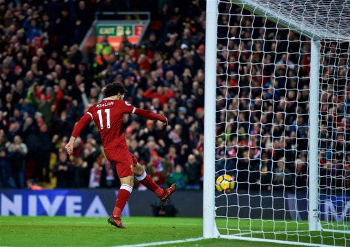 Liverpool 2-1 Leicester: Reactions to Salah at the double