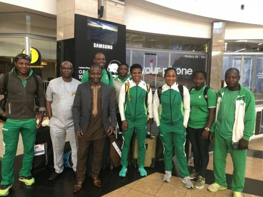 Wrestling: Igali, Kodei, five others in Johannesburg