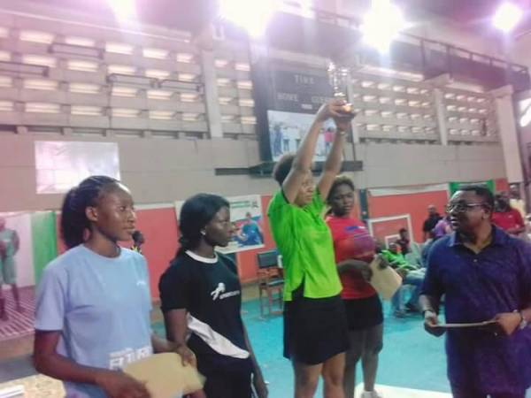 Table Tennis: Celicia Akpan retains Women Singles title.