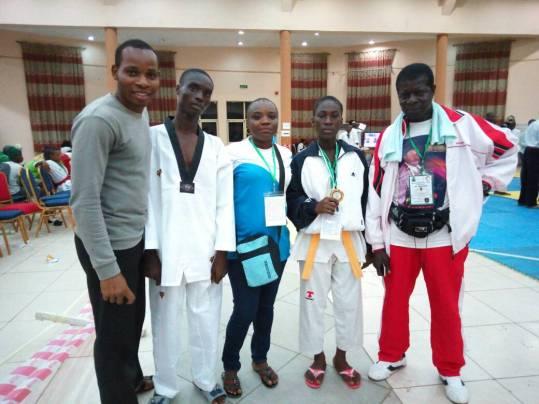 Taekwondo: Junior Championships/Camping in January