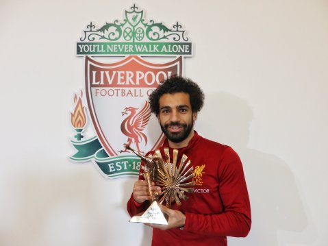 Mo Salah crowned BBC African footballer of the year