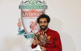 Mo Salah crowned BBC African footballer of the year