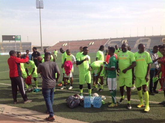 Ex-football stars face Kano Pillars for IDPs