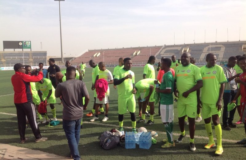 Ex-football stars face Kano Pillars for IDPs