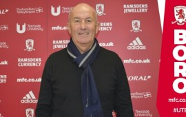 Middlesbrough appoint Tony Pulis as first team manager