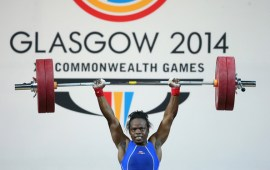 Commonwealth Games: Fidelis, 11 other weightlifters in Camp